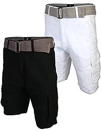 Men's Belted Stretch Cargo Short (2 Pack)