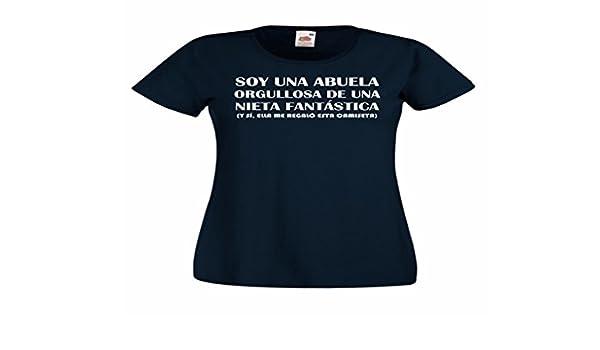Camisetas divertidas Parent Soy Una Abuela Orgullosa de Una Nieta Fantastica, y Si, Ella Me Regalo Esta Camiseta - Para Mujer Camiseta: Amazon.es: Ropa y ...