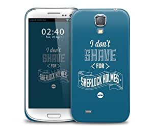 shave sherlock Samsung Galaxy S4 GS4 protective phone case