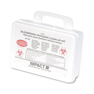 UNS03082 - Unisan Bloodborne Pathogen Clean-Up Kit in Plastic Case]()