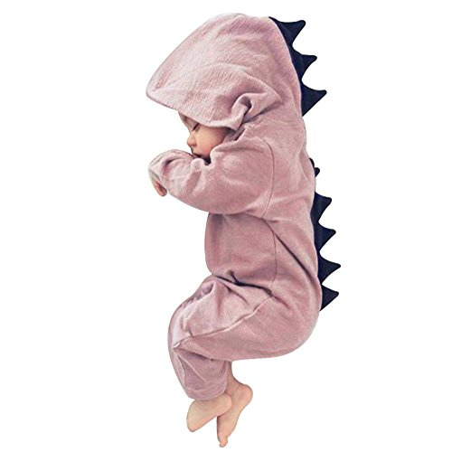 Butterfly Iron Toddler Baby Rompers Winter Autumn Hooded Newborn Infant Halloween Dinosaur Costume
