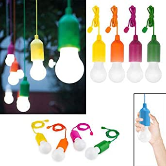Handy Lux bombilla LED Inalámbrico que ilumina con un click lámparas LED lamp, Campus University Linterna de camping, Handy Lux Colors bombillas ...