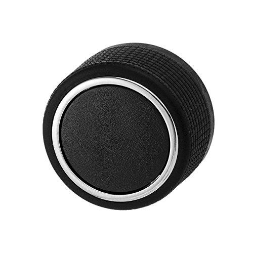 (Rear Audio Radio Control Knob Button Replacement Fit For 07-13 Chevy Tahoe Silverado Suburban GMC Sierra Yukon Cadillac Buick (1 Piece))