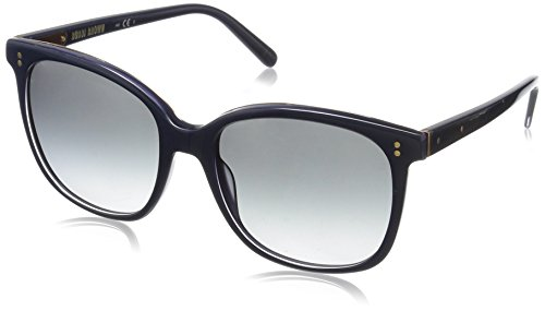 Bobbi Brown Women's the Whitner Square Sunglasses, Blue/Gray Gradient, 54 - Blue Gradient Gray