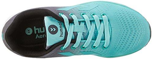 Hummel Aero1, Zapatillas Deportivas para Interior para Mujer Verde (Mint)