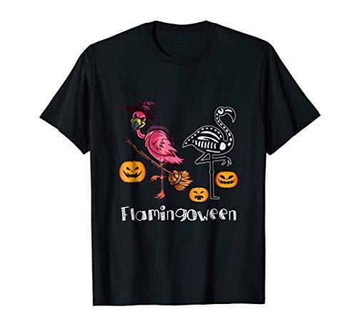 Funny Halloween 2018 Flamingoween Shirt Flamingo Costume -