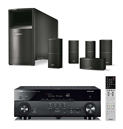 Bose-Acoustimass-10-Series-V-Wired-Home-Theater-Speaker-System-Black-with-Yamaha-RXA670-AVENTAGE-AV-Receiver