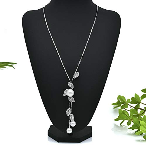 - Werrox Charm Womens Crystal Tassel Pendant Long Chain Sweater Necklace Jewelry Gift | Model NCKLCS - 21817 |