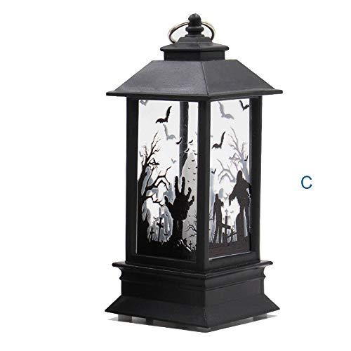 1PC Halloween Halloween Candle Lights, LED Home,Outdoor Lighting Decoration for Patio, Garden, Porch, Fence, Christmas Tree, Yard, Party (C, 2.16 inch X 2.16 inchX 4.9 inch) - Spider Web Fairy Costume