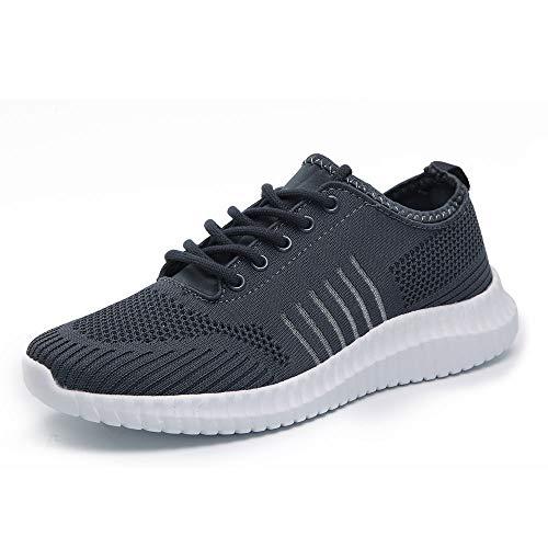 Idea Frames Men's Knit Sport Walking Shoes Ligh...