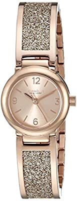 Caravelle New York Women's 44L165 Rose Gold-Tone Stainless Steel Watch