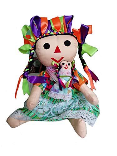 Artistic Mexican Handmade Rag Doll (Maria)