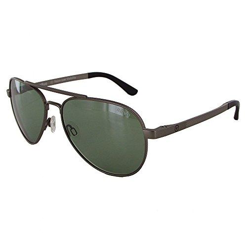 Revo Zifi Sunglasses, Gunmetal Frame, Custom Green 58mm Lenses, part of the Vision Over Visibility -