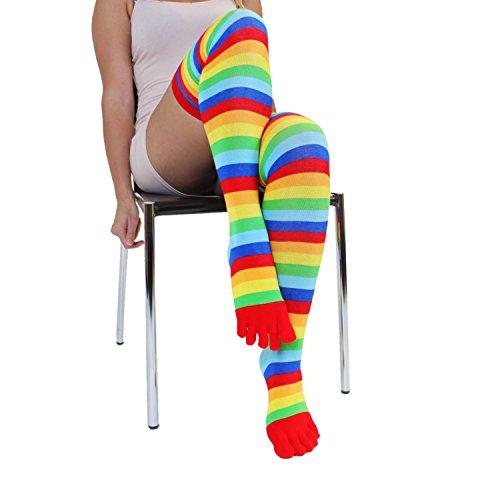 Toetoe - Viktig - Over-knee - Unisize Oss 04.05 Til 11.05 Rainbow