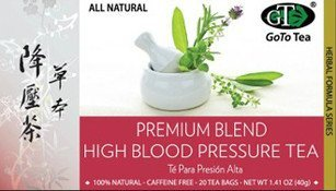 GoTo Tea High Blood Pressure Tea Premium Blend (20 Tea Bags)