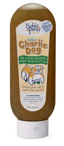 Bobbi Panter Charlie Dog Shampoo, Flea and Tick, 10oz, Brown, My Pet Supplies