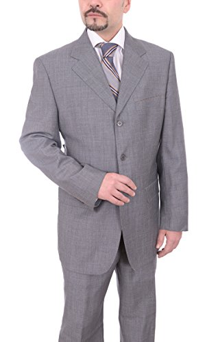 carlo-palazzi-classic-fit-heather-gray-three-button-wool-suit-made-in-italy