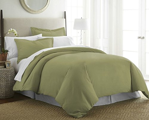 Soft Essentials Premium Ultra Soft 3 Piece Duvet Cover Set