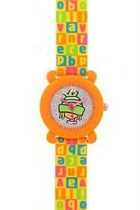 Poivre Blanc PV 106/09 - Reloj , correa de plástico color naranja