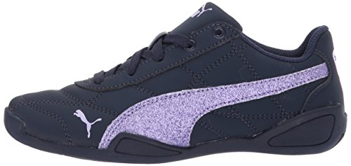 PUMA Girls' Tune Cat 3 Glam Sneaker, Peacoat-Purple Rose, 3.5 M US Big Kid by PUMA (Image #5)