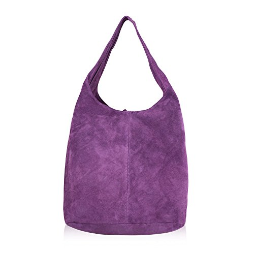 Handbag Trendy Strap Shoulder for Women for Shoulder Purple Handbags for New Stylish Bag Latest Women 2018 Mayfair Design Cashmere Designer Ladies wfSPSqO