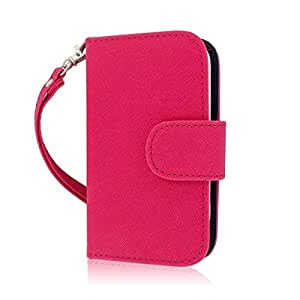 Empire Mpero Flex - Funda tipo cartera para Samsung Galaxy Rush M830, color rosa y azul
