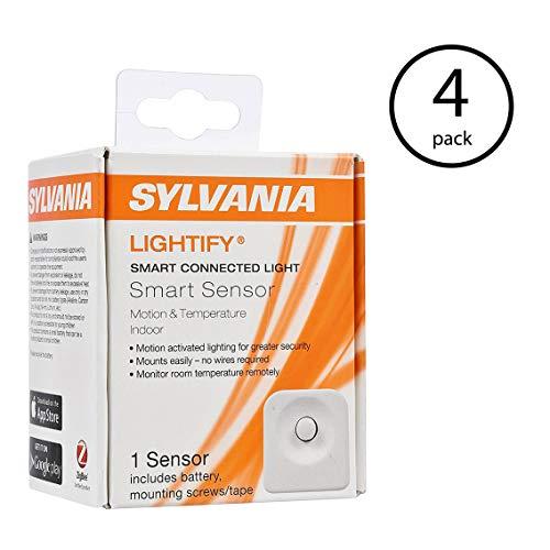 Sylvania Osram Lightify Lighting Motion/Temperature Sensor (Needs Hub) (4 Pack)