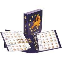Lindner 8450 Álbum pre-impreso colección Euro: Juegos monedas