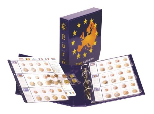 Lindner 8450 Illustrated Album EURO COLLECTION: coin sets of all Euro countries Complete - Coin Euro Complete