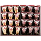 【詰め合わせ】AUDREY オードリー グレイシア 24本入り 苺 ミルク (12本)& 苺 チョコレート(12本) 詰め合わせ 合計24本入り お菓子