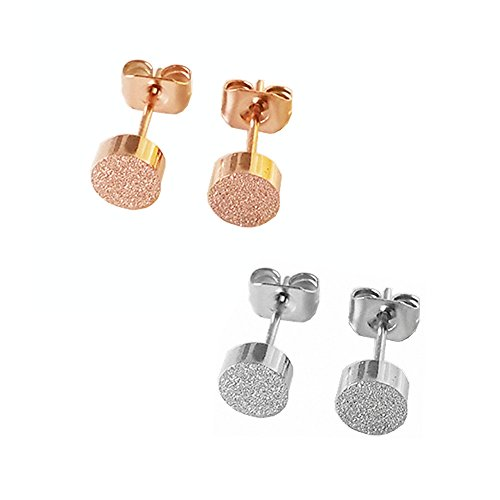 Womens Girls Jewelry Stainless Earrings
