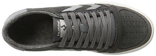 Calabrone Sneaker Piatta Unisex Adulto - Più Sottile Stadil Duo Oliato Bassa - Mezzo Scarpa In Pelle E Camoscio - Scarpe Casual Caldo Rivestimento - Sneaker Di Colore Grigio Div (castello Di Roccia).