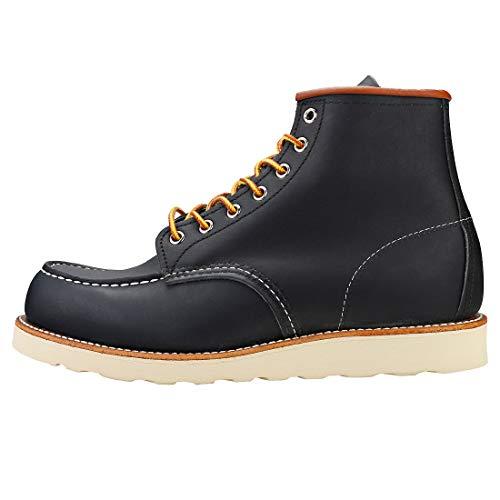 Moc Botas Hombres Marino uk Rojo Wing 8 Zapatos Azul Classic qAWwfATH0t