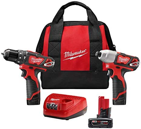 M12 12-Volt Lithium-Ion Cordless Drill Driver Impact Driver Combo Kit 2-Tool