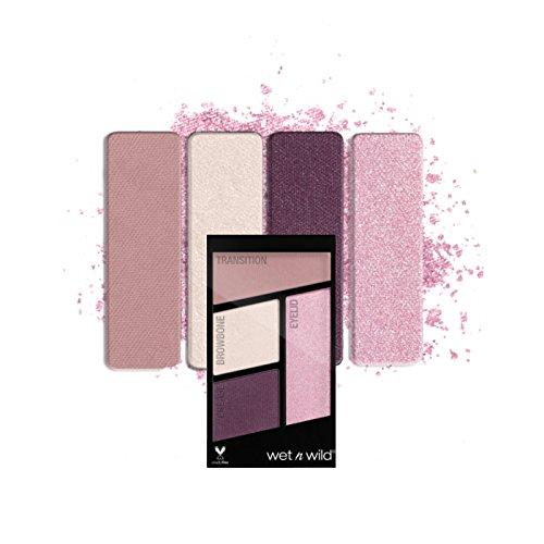 広がりロデオスキップ(6 Pack) WET N WILD Color Icon Eyeshadow Quad - Petalette (並行輸入品)