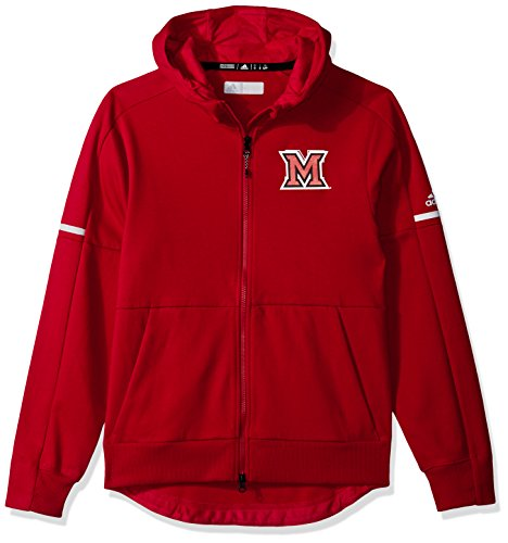 NCAA Miami of Ohio RedHawks Men's Sideline Squad ID Jacket, Power Red, Medium by OuterStuff
