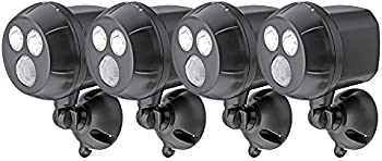 4-Pack Mr. Beams 300-Lumen Ultrabright Spotlight