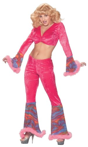 Pink Sexy Pony Costumes (Pink Haze Sexy Adult Costume)