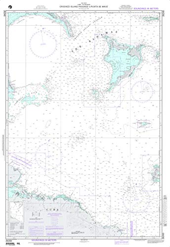 NGA Chart 26240 Crooked Island Passage to Punta de Maisi 33