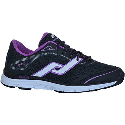 Pro Touch OZ Pro IV W Zapatillas Deportivas de Mujer 232490 Gris Claro, Violeta, Rojo Claro - negro