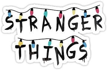 Stranger Things Sticker Decal Window Bumper Sticker Vinyl 5