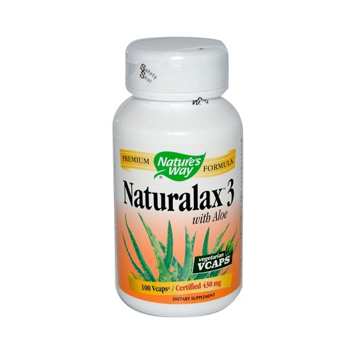 NATURE'S WAY NATURALAX 3 CAPS, 100 VCAP