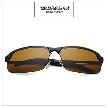 Die neue Brille Sonnenbrille sunyan Tide's Sonnenbrille Männer war mäßig Streuscheibe Augenlinse mit dem Auto fahrer Spiegel, Hochglanz schwarz Gestell schwarz grau Stück