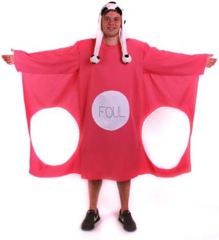 Disfraz de texto portería Fútbol gracioso gorro rosa XL disfraces ...