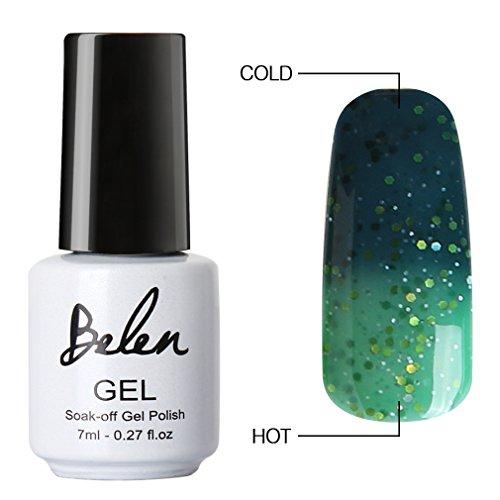 Belen Chameleon Thermal Colour Changing Gel Polish Soak Off Nail Art Manicure 5725