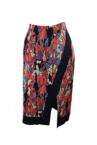 Rachel Rachel Roy Plus Size Midi Printed Sweater Skirt X, Coral, 3X by RACHEL Rachel Roy