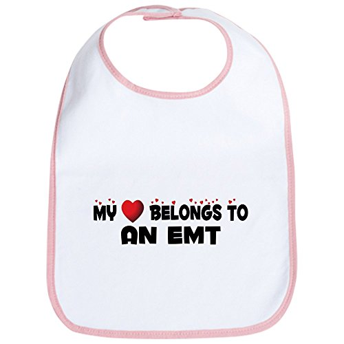 CafePress - Belongs To An EMT Bib - Cute Cloth Baby Bib, Toddler Bib
