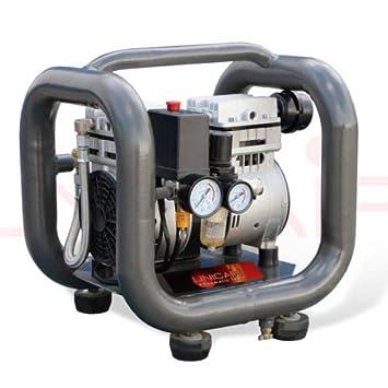 Compresor silencioso Unicair CS-1.0/3L (1Hp/3L) (sin aceite): Amazon.es: Bricolaje y herramientas