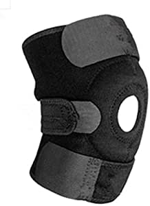Breathable Adjustable Open Patella Knee Brace Support Knee Sleeve for Sports and Cycling