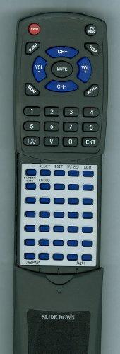 (Replacement Remote Control for SANSUI 076E0PV051, 076E0PV02A, HDLCD1955B, HDLCD1955W)
